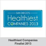 San Diego's Healthiest Companies 2013
