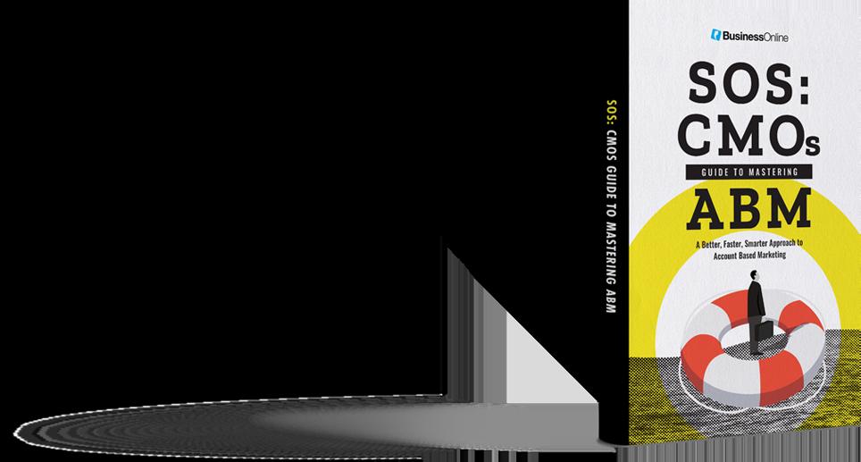 SOS: CMOs Guide to Mastering ABM book cover
